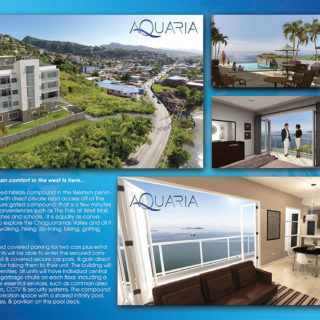 RESIDENTIAL DEVELOPMENT, The Aquaria- Point Cumana