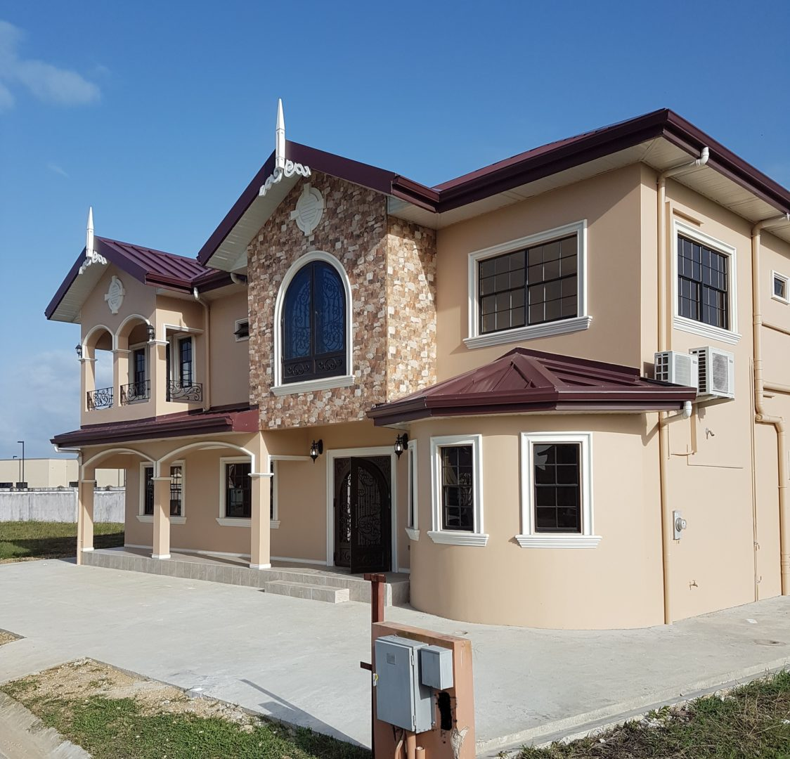 BRAND NEW 4 BEDROOM, TWO STOREY HOUSE , POOL, GATED