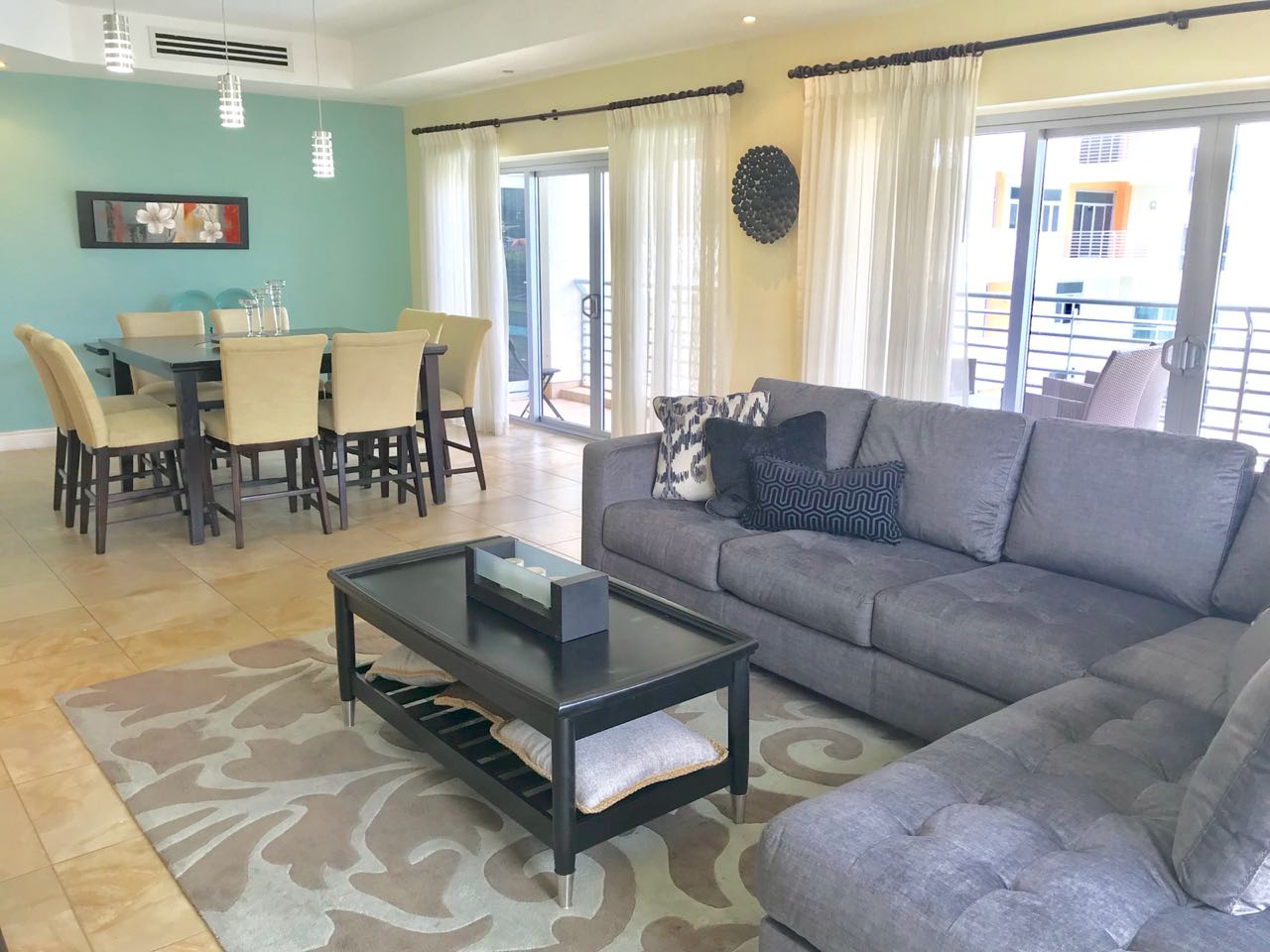 One Woodbrook, 3 bedroom, 2 1/2 bath, 4th floor fully furnished apartment