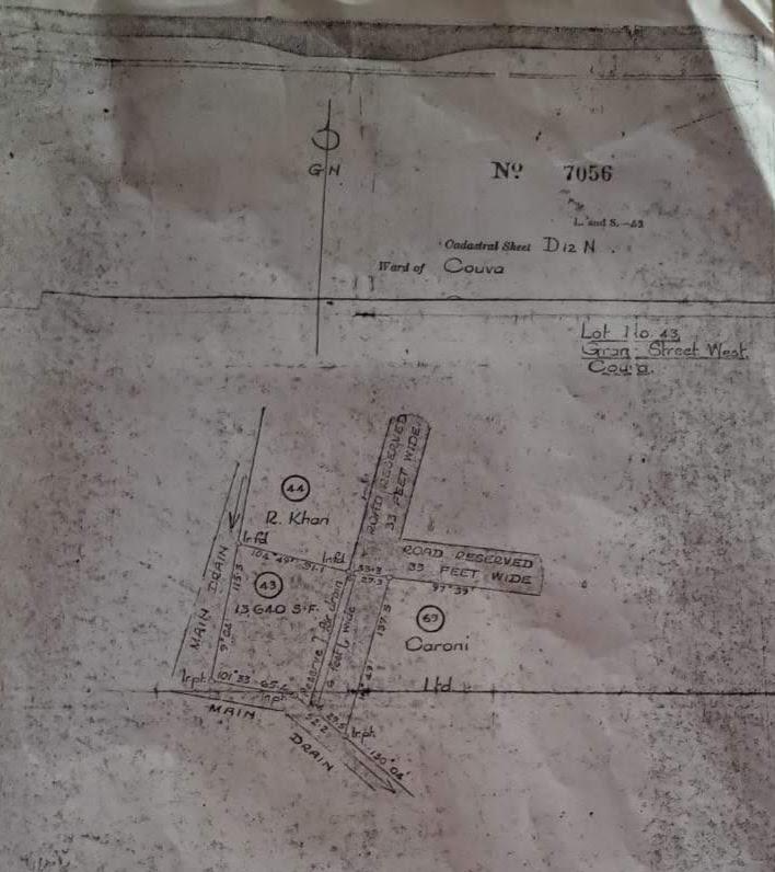 Grants Trace, Couva- Land for Sale- TT$1M