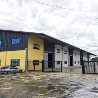 WAREHOUSE IN FREEPORT- COUVA 20,000 SQFT.  ON 1 ACRE for RENT!