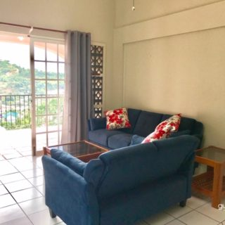 SPACIOUS 1 BEDROOM APARTMENT IN CASCADE WITH GREAT VIEWS FOR RENT: TT$6500/Mth