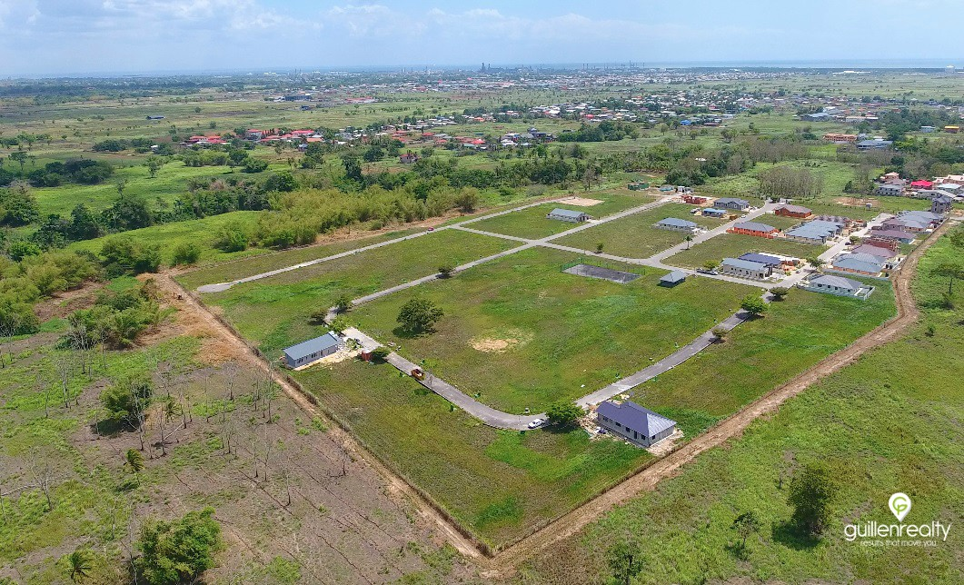 Land for sale, gated community, Mc Bean, Couva