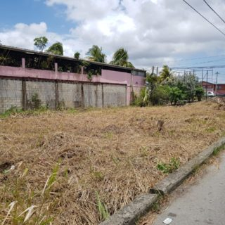 LAND FOR SALE; CHARLIEVILLE, CHAGUANAS