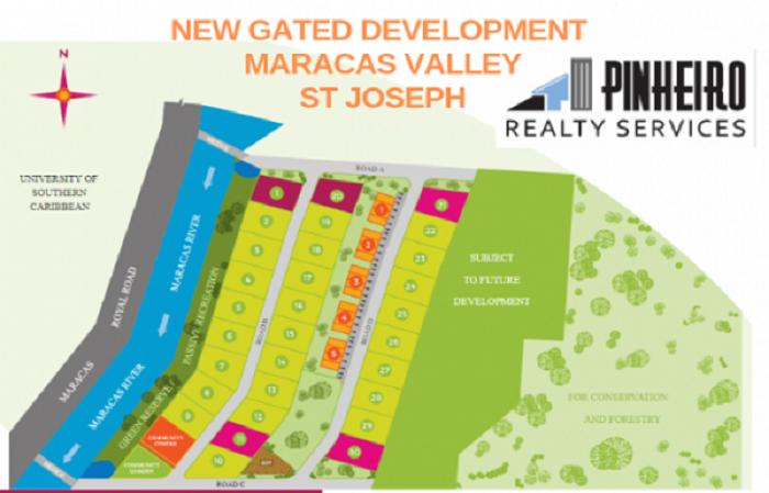 New gated community Maracas Valley St. Joseph  predevelopement 900,000 TT