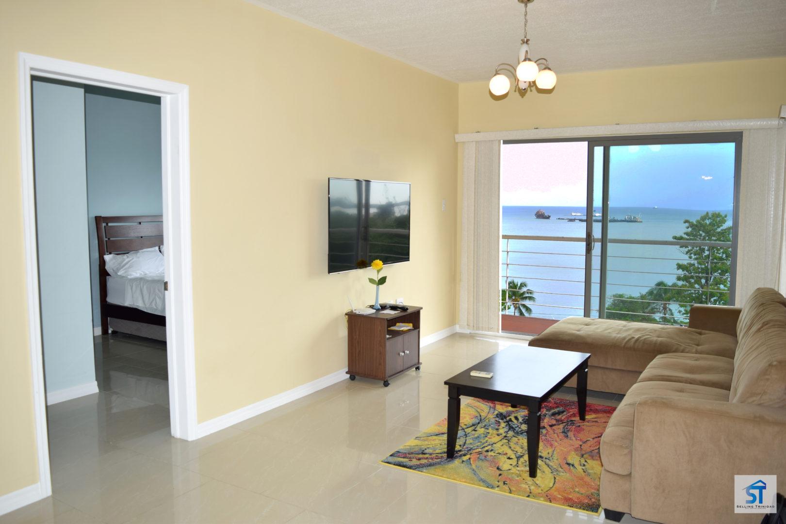 Beautiful condo in South Trinidad with Ocean Views!