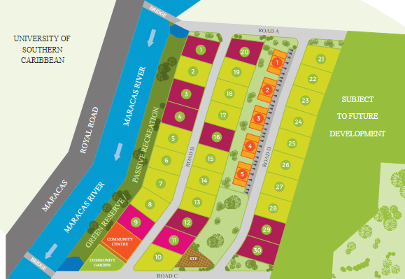 Land for Sale – New Gated Community