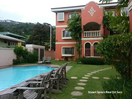 Well appointed, 3 bedrooms, 2.5 baths, FF & FE, apartment is available for rent in gated compound.