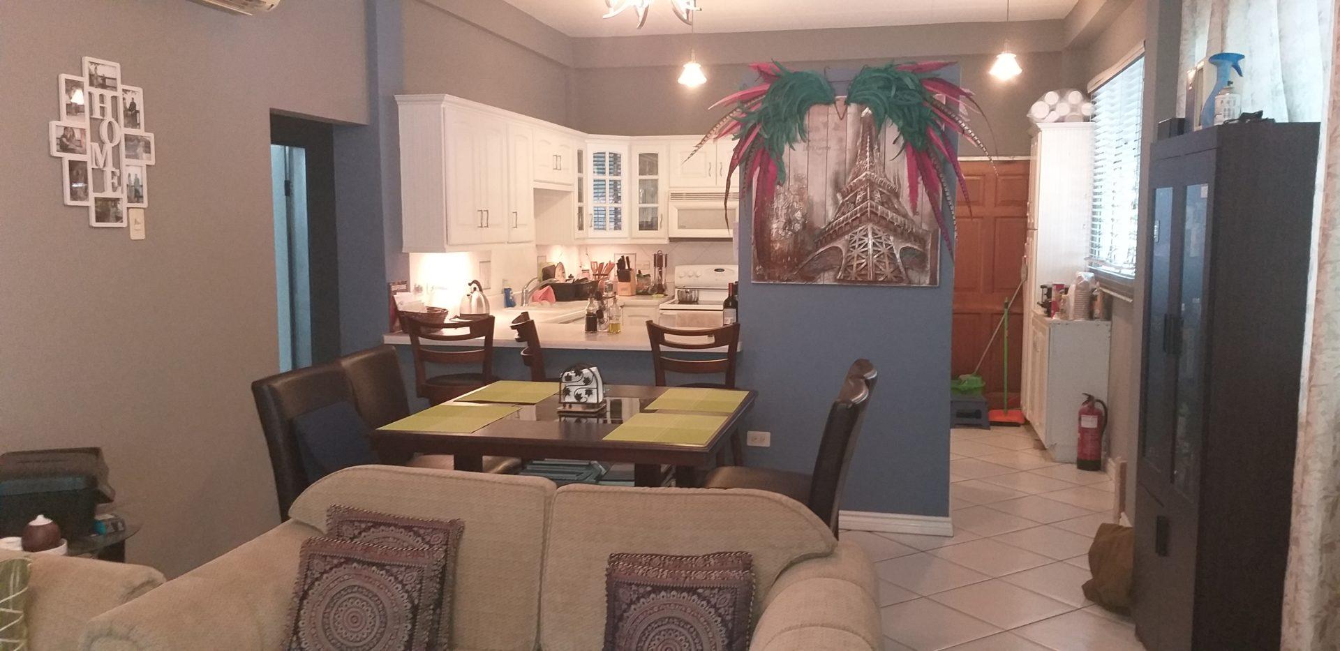 St. Martins Apartment, Queens Park West Savannah – FOR RENT