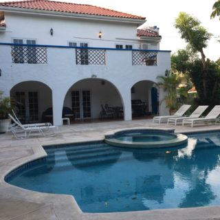 Furnished (3) Bedrooms, (3) Bathrooms, (2) Storey Spanish-style Architecture House.