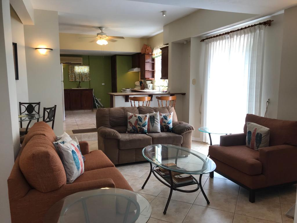 Two (2) Bed, One (1) Bath Fully Furnished & Equipped Apt.