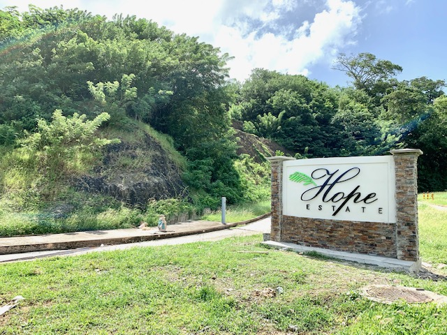 HOPE ESTATE, TOBAGO- Residential and Commercial Lots for Sale