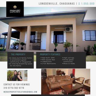 House for Sale – Riverview Park, Chaguanas