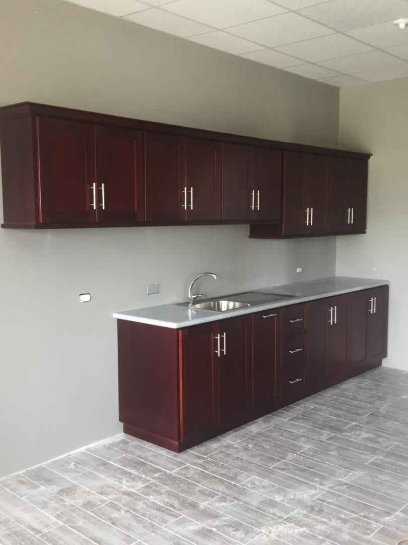 Unfurnished two bedroom apartments in Piarco.