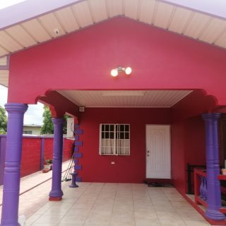 Chaguanas 3Br House Unfurnished