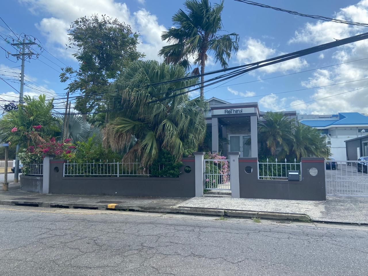 CORNER GRAY AND ALCAZAR STREET, ST CLAIR For Rent : TTD45000