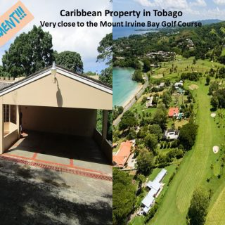 Fully Furnished Caribbean Property in Tobago – Mount Irvine Bay close to the Golf Course