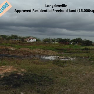 Approved Residential Freehold land (16,221 sqft) – Longdenville in Chaguanas