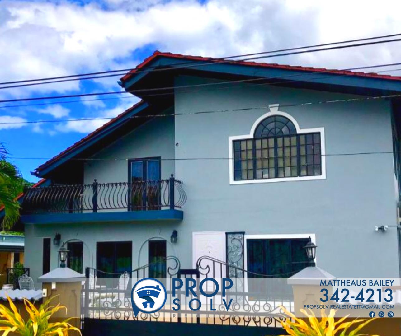 FOR SALE – Sam Boucaud, Santa Cruz 7 Bedroom 2 Storey House