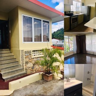 FOR RENT IN ST ANNS 2 Bedroom Semi furnished $6,000
