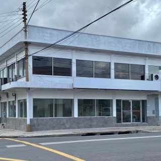 Well situated and offering great road frontage & visibility is this two story building on Ariapita Avenue, Woodbrook.