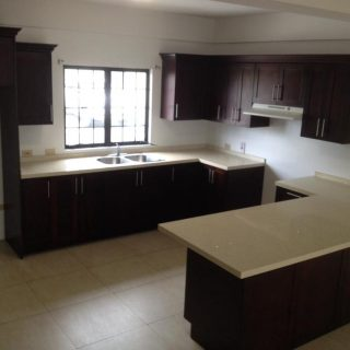 Aranguez tri-level unfurnished townhouse for rent