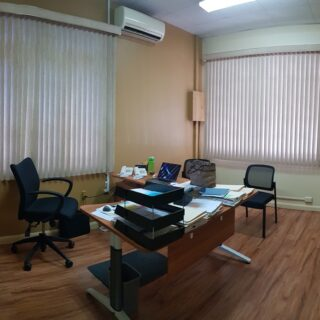 FOR RENT! Western Main Road commercial office space with 4 parking spots.