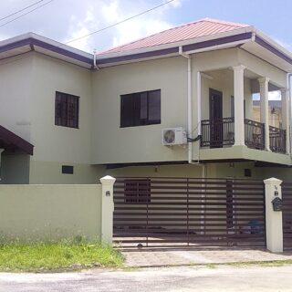 FOR SALE: Two storey home on Ibis Avenue, Couva