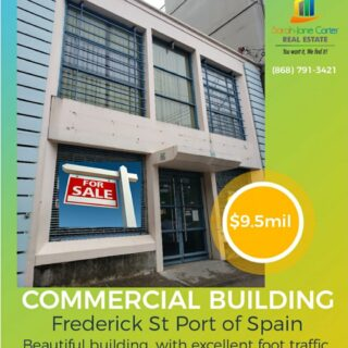 COMMERCIAL PROPERTY FOR SALE Great Location, Upper Frederick Street Port-Of Spain