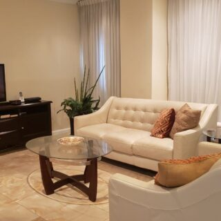 One Woodbrook Fully Furnished & Equipped 2 Bed, 2 Bath Second Floor Apartment
