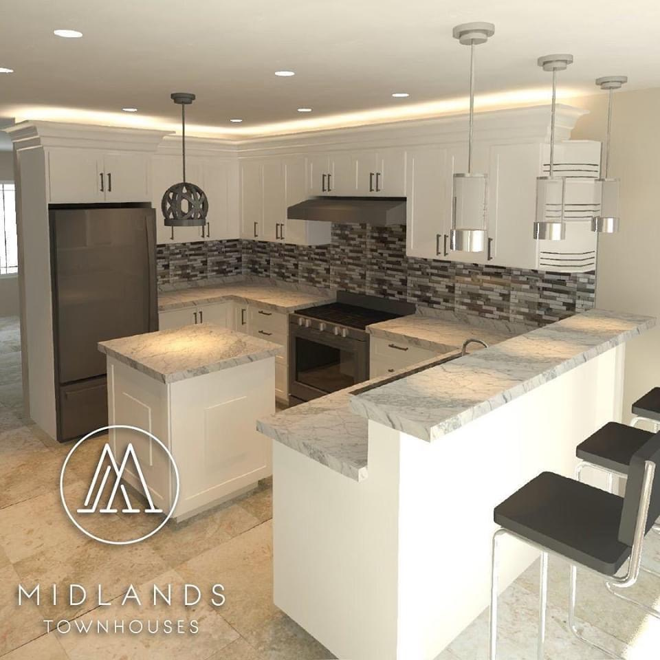 Midland Townhouse Development, Chaguanas -Pre Construction Sale, Modern Interior & Chic Design
