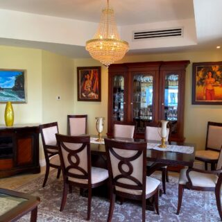 FOR RENT –  FF & E 3 Bedroom One Woodbrook Place Apartment.