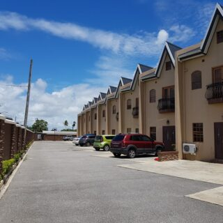 Elegant, tri-level, gated, UF, Piarco, TH for rent.