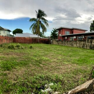 LAND FOR SALE IN WOODBROOK