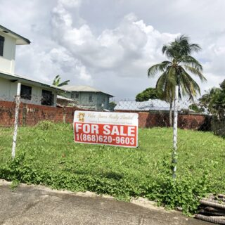 LAND FOR SALE ALBERTO STREET, WOODBROOK