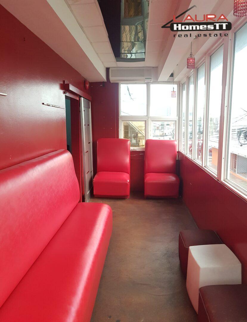 Dundonald Street Port of Spain. Euphoria Lounge. (Commercial Sale)