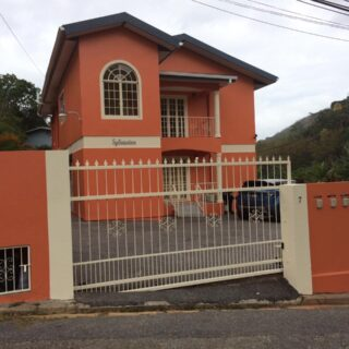 For Rent – Very Spacious 3 Bedroom Upstairs Apartment, Lynch Dr, Maraval