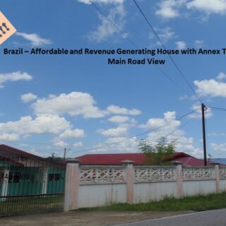 Investment Opportunity: Affordable, Revenue Generating ($6,000/mth) Brazil House with Annex for sale