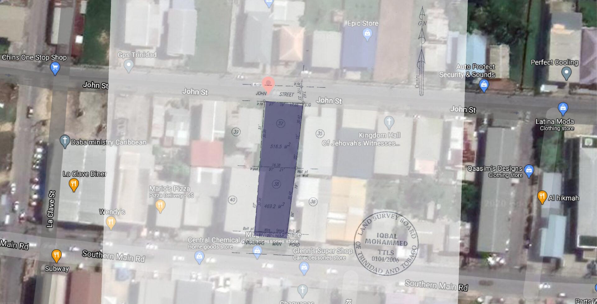 Land, Chaguanas Main Road, Chaguanas