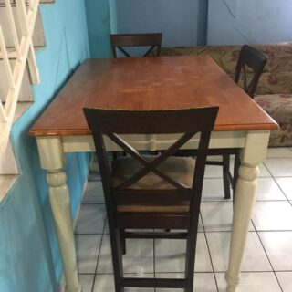 For Rent: Fully furnished pet friendly Woodbrook upstairs and downstairs house