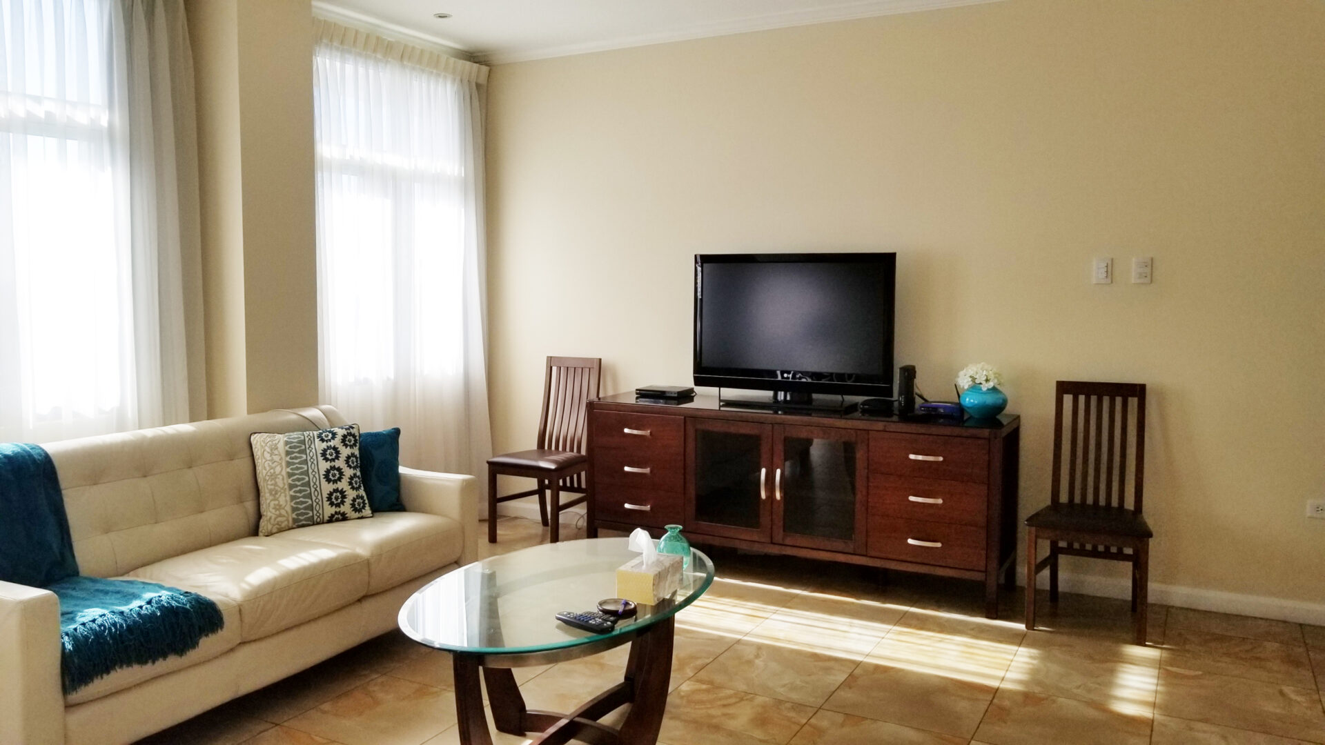 For Rent – One Woodbrook Place – 2 Bedroom furnished apartment