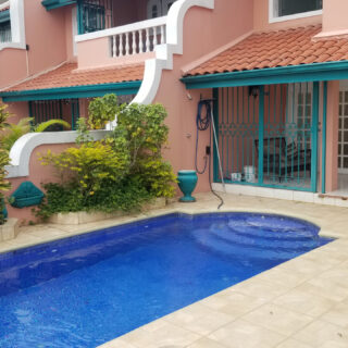 For Rent – Marine Villas, Westmoorings – Spacious townhouse on the sea