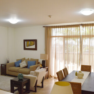 For Rent – Podium 4C, One Woodbrook Place – 3 bedroom apartment in a gated complex