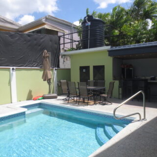 For Sale – Gulf View, La Romain – 3 Bedroom Single Storey House With Pool