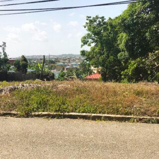 For Sale – St Joseph Village, San Fernando – $1,600,000TT – Land with great views