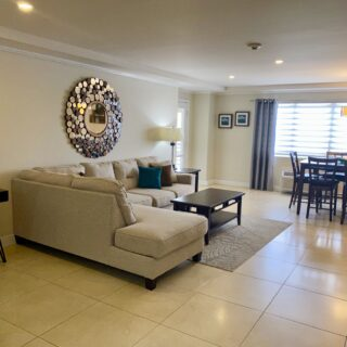 FULLY FURNISHED 2 BEDROOM, 2 BATHROOM,BAYSIDE APT FOR RENT OR SALE