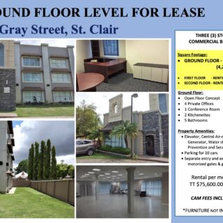 13 Gray Street, St. Clair Ground Floor For Lease