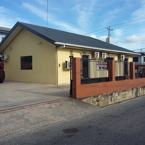 OFFICE BUILDING FOR RENT – EASTERN MAIN ROAD, AROUCA $9000.00