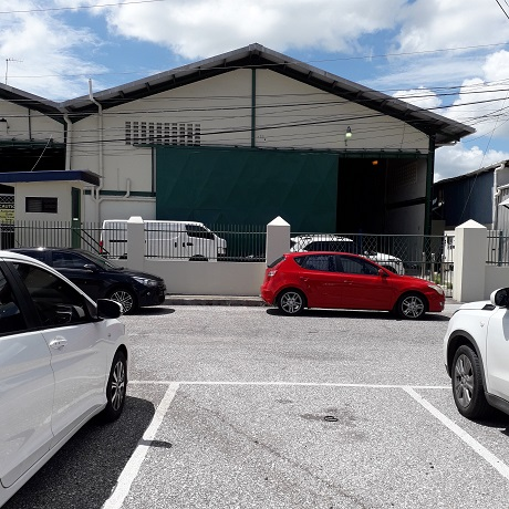 WAREHOUSE FOR RENT -NEW TRINCITY INDUSTRIAL ESTATE 6300SF $28,500