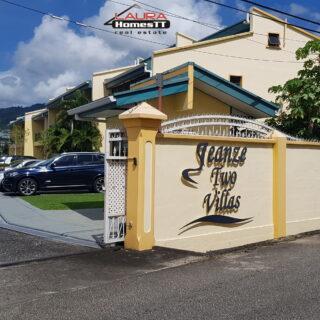 St Augustine – Jeanze Two Villas.  – End Unit Residential Sale